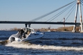 Каютная моторная лодка SF 700